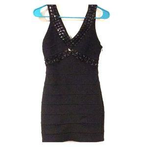 Sexy Black Mini Dress Sz S